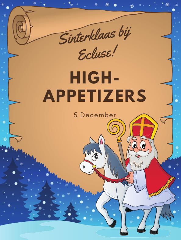 Sinterklaas bij Ecluse